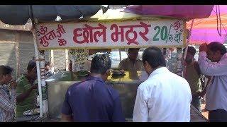 Guptaji ke Chole Bhature & Chole Chawal   Only 20 Rs Plate   Street Food Delhi