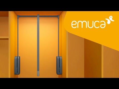 Cómo instalar el colgador abatible Sling en un armario - Emuca
