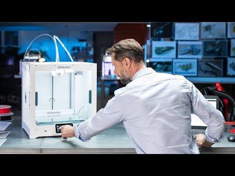 3D spausdintuvas Ultimaker S5 kaina ir informacija | Spausdintuvai | pigu.lt
