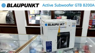 My ELITE i20 | Blaupunkt Active subwoofer GTB 8200A installation I SOUND PERFORMANCE