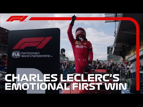 Charles Leclerc's Emotional First F1 Win | 2019 Belgian Grand Prix