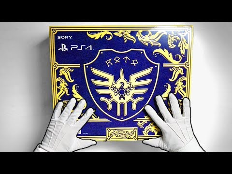 FANCIEST PS4 CONSOLE EVER! (Japan Only) Unboxing Dragon Quest XI Slime Playstation 4 Slim Gameplay