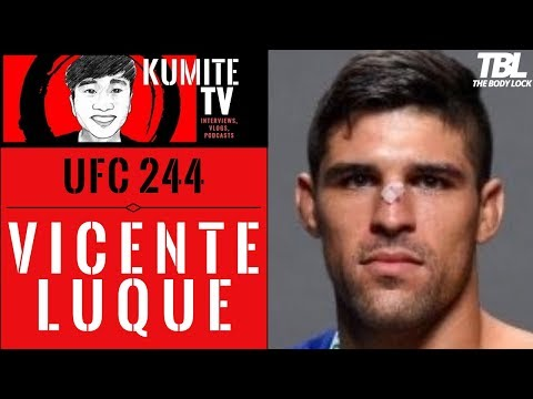 """Vicente Luque on the BMF title: """"I'm a bad m@therf*cker inside the cage"""""""
