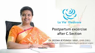 "Yoga and "" Baby on Board"" exercise after normal and surgical delivery - Dr Beena Jeysingh"