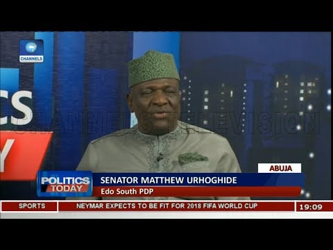 Mace Theft Has Brought Shame To Nigeria,Desecrated Democracy-- Urhoghide Pt.1 |Politics Today|
