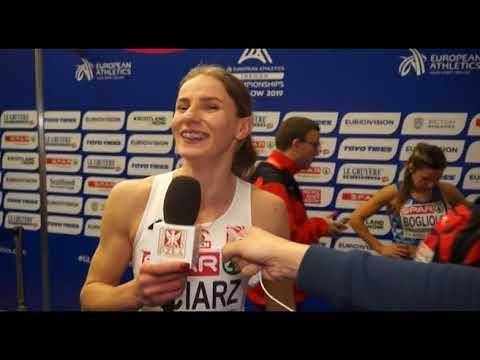 HME Glasgow 2019: Klaudia Siciarz po awansie do półfinału