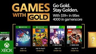 Games with Gold di luglio