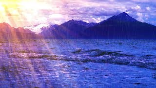Relax to Rain and Ocean Sounds | White Noise Rainstorm 10 Hours
