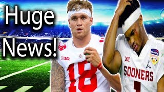 Kyler Murray Backs Out on MLB, Will Try NFL Instead! Justin Fields Already Ran off Tate Martell?