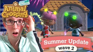 Summer Update Wave 2: Animal Crossing New Horizon Reaction Video!