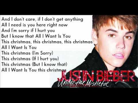 Justin Bieber - All I Want Is You [ Karaoke - Instrumental ]