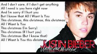 justin bieber all i want is you karaoke instrumental - All I Want For Christmas Is You Instrumental