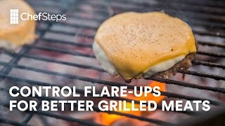ChefSteps Tips & Tricks: Control Flare-Ups For Better Grilled Meats - Video Youtube
