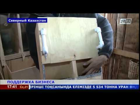 Житель п.Белое СКО открыл первую в районе кролиководческую ферму