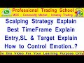 Best Strategy | How to Find Market Trend | How to Control your Emotions | How to Get Daily Profits?