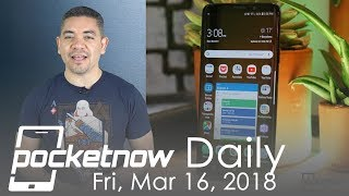 Samsung Galaxy S10 Facial recognition, iPhone SE2 leak & more - Pocketnow Daily