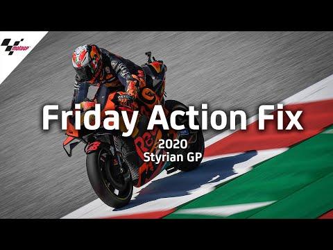 MotoGP スティリアGP 金曜日に行われたフリープラクティスのハイライト動画【MotoGPを無料で楽しめる無料動画】