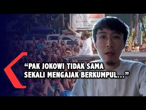 Kata dr Tirta Soal Kerumunan Jokowi di Maumere NTT