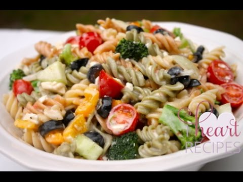 The BEST Creamy Italian Pasta Salad Recipe – I Heart Recipes