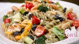 The BEST Creamy Italian Pasta Salad Recipe – I Heart Recipes