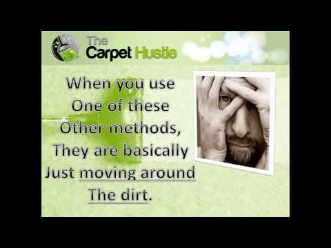 Carpet Cleaning Tips and Tricks! The best method to clean your carpet professionally!