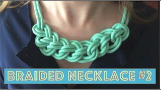 New Paracord Braided Necklace: Easyyy!!