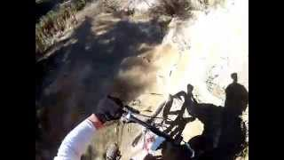A long, but very good, video of the entire downhill run at El Prieto Canyon.