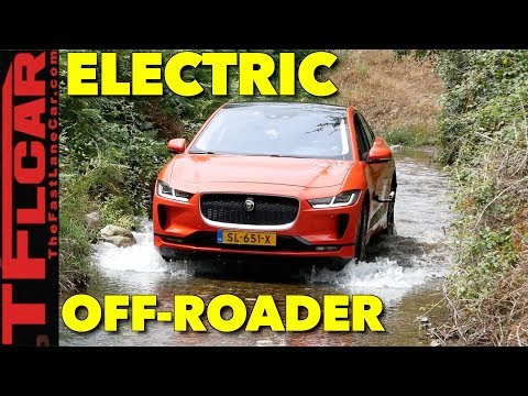 Is The New Electric 2019 Jaguar I-Pace Better Than A Tesla? On AND Off-Road Review