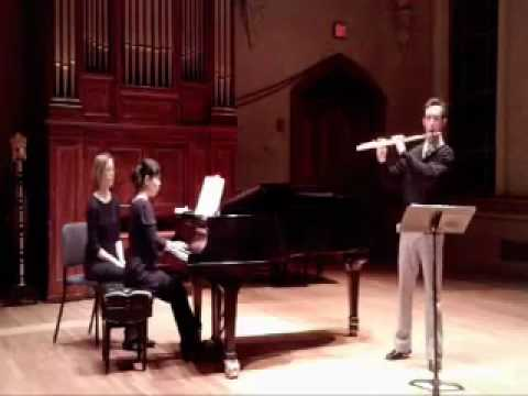 Cantabile et Presto by Georges Enesco; Orlando Cela, flute; Eiko Ishizuka, piano
