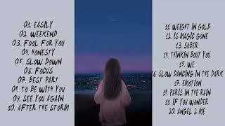 알앤비: 감성 터지는 늦은 밤, 혼자만의 생각에 잠기기 좋은 20곡