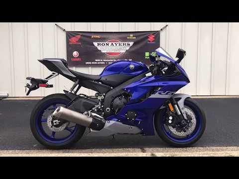 2020 Yamaha YZF-R6 in Greenville, North Carolina - Video 1