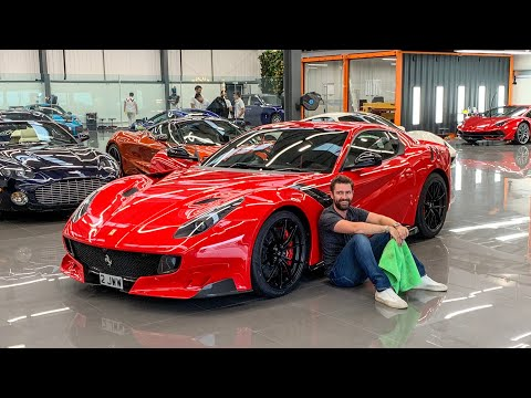 My Ferrari F12 TDF Is FINALLY Complete!
