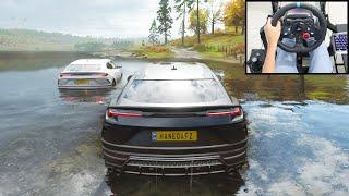 Lamborghini Urus - Forza Horizon 4 Online   Logitech g29 gameplay
