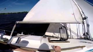 Аренда парусных яхт на Пироговском водохранилище