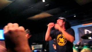 """D.R.I. """"Snap """" and """"I'd Rather Be Sleeping"""" @ Brass Mug 3/02/2012 Tampa, Florida"""