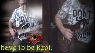 Accept: It's hard to find the way (Guitar cover)