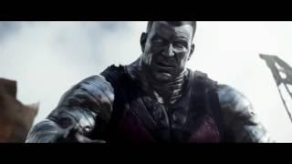Deadpool (2016) - Fight scene : Colossus VS Angel Dust
