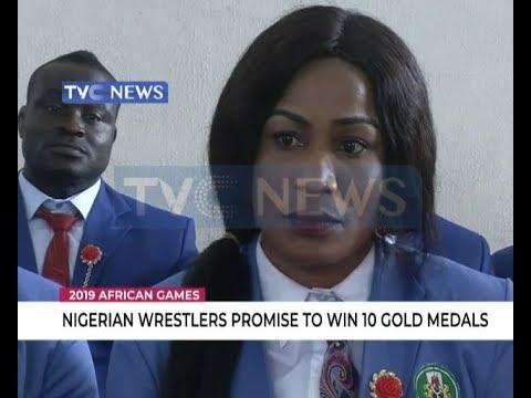 16 Nigerian wrestlers set for 2019 African games