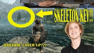 SKYRIM SPECIAL EDITION: ✓ ✓  HOW TO GET THE SKELETON KEY BACK (Skyrim Remastered PS4/Xbox One)