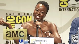 Danai Gurira Punched Andrew Lincoln For Real: Comic-Con Panel Highlights: The Walking Dead: Season 6