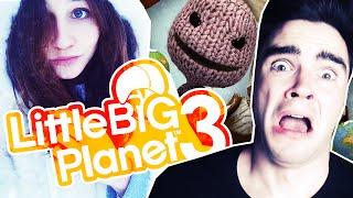 MOKRY CHALLENGE! - Little Big Planet 3 [#3]