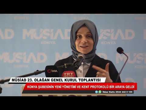 MÜSİAD Konya Şubesi'nin yeni yönetimi belli oldu