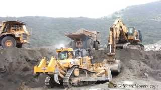 CAT D11T, 5110B, and 773B 's mass-x