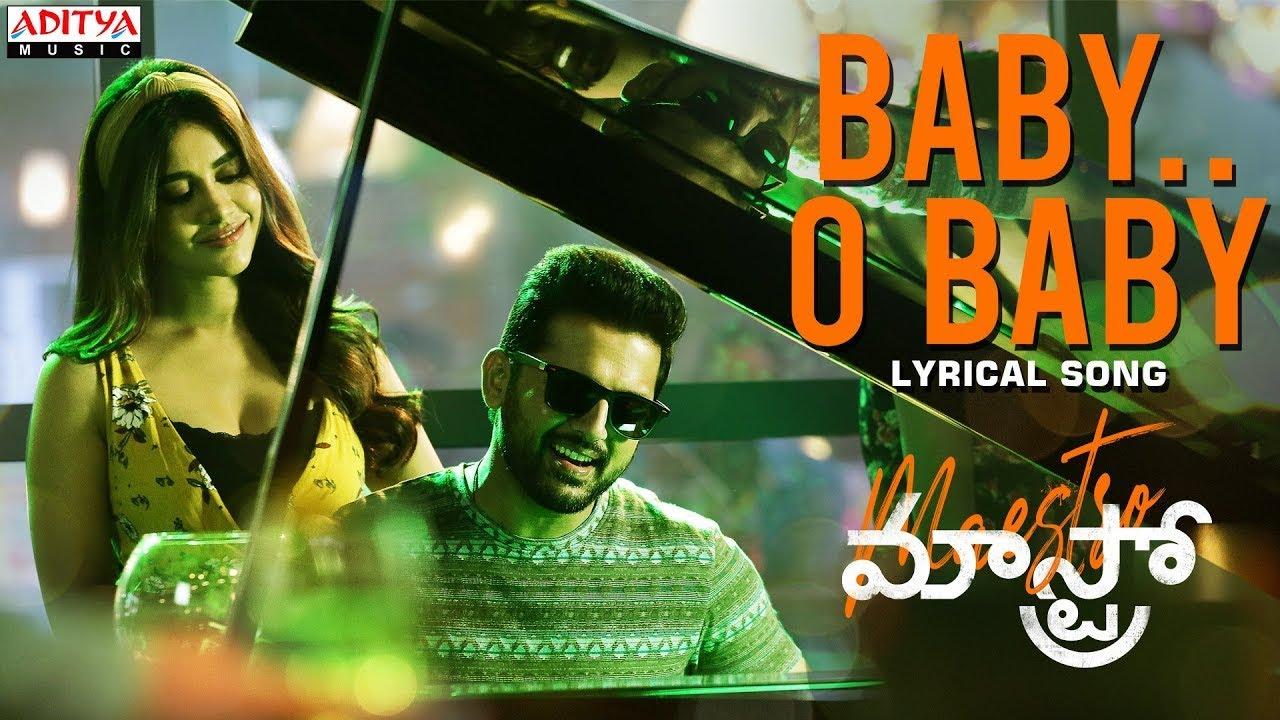 Baby O Baby Lyrical Video From Maestro Movie