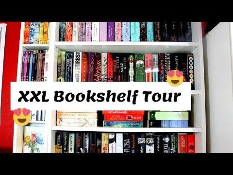 XXL BOOKSHELF TOUR | Das ist mein Bücherregal | zeilenverliebt