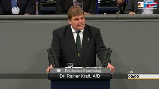 """""""Ökopopulistische Fake News!"""" - Rainer Kraft - AfD-Fraktion im Bundestag"""