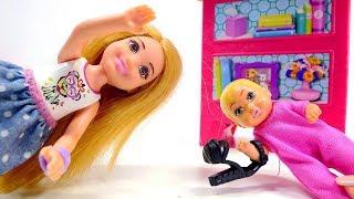 Барби потеряла туфлю. Видео для девочек: игры с куклами.