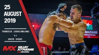 MX MUAY XTREME | FULL FIGHT | คู่ 3/5 | THANEELEK VS JAKUB | 25 AUG 2019 | Official