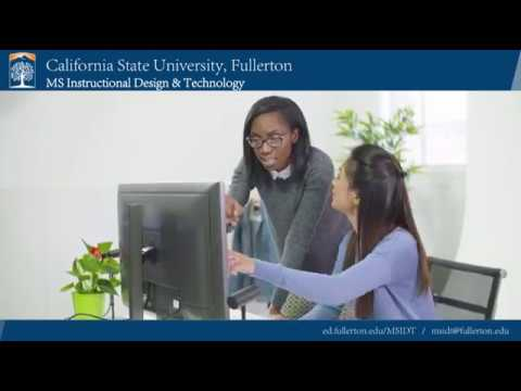 Instructional Design Certificate at Cal State Fullerton - YouTube