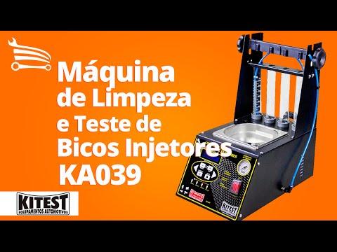 Máquina de Limpeza e Teste de Bicos Injetores - Video